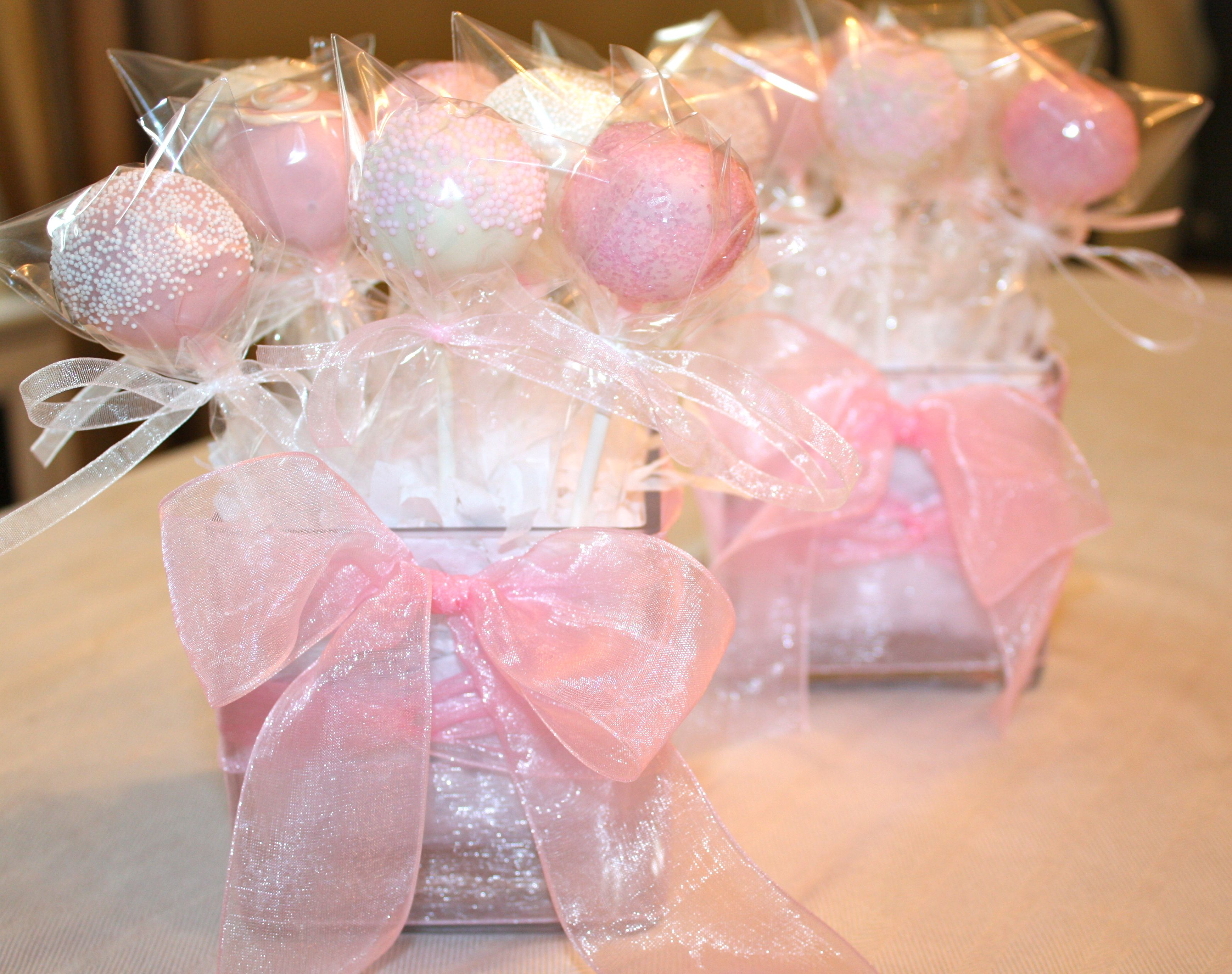 Cake Pop Centerpieces For Baptism : cake pop centerpieces - Google Search Cake Pops ...