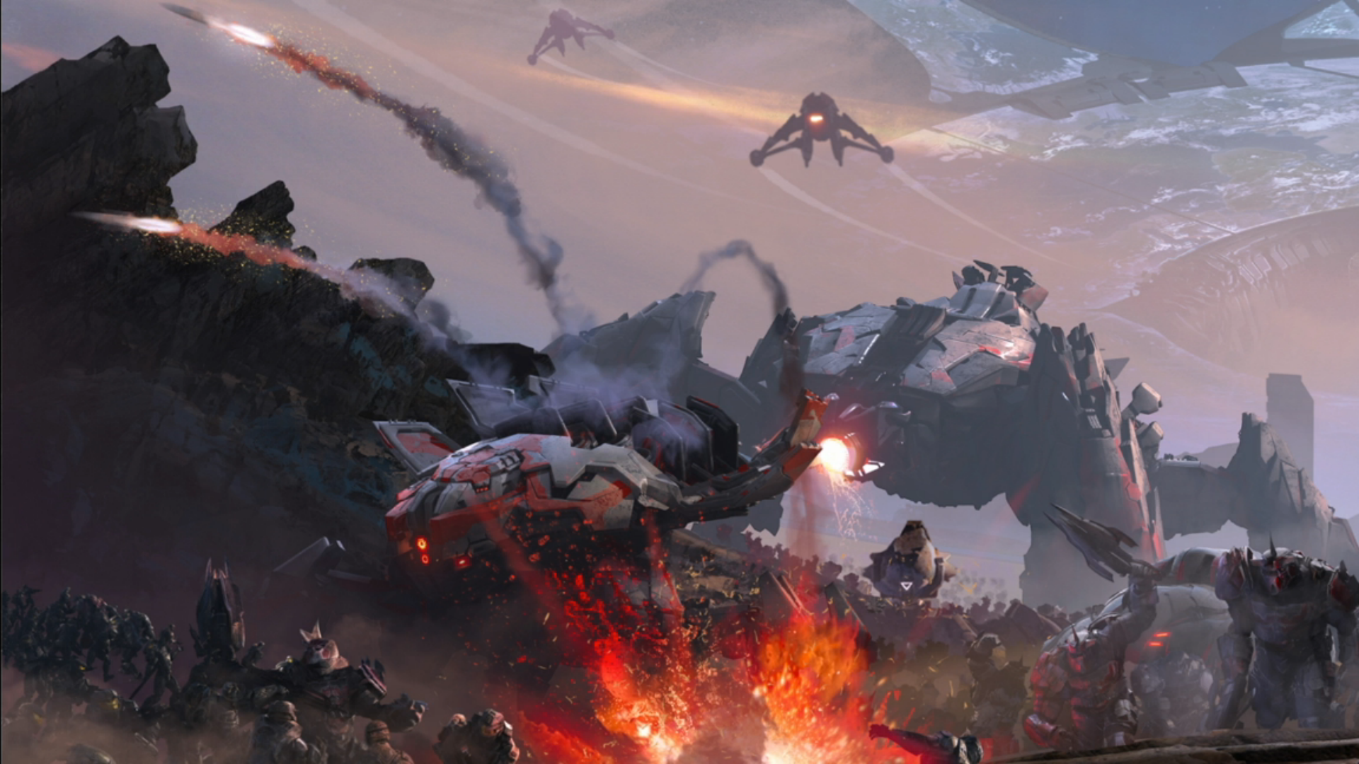 Image Result For Halo Wars 2 Concept Art Halo Concept Art Halo Series