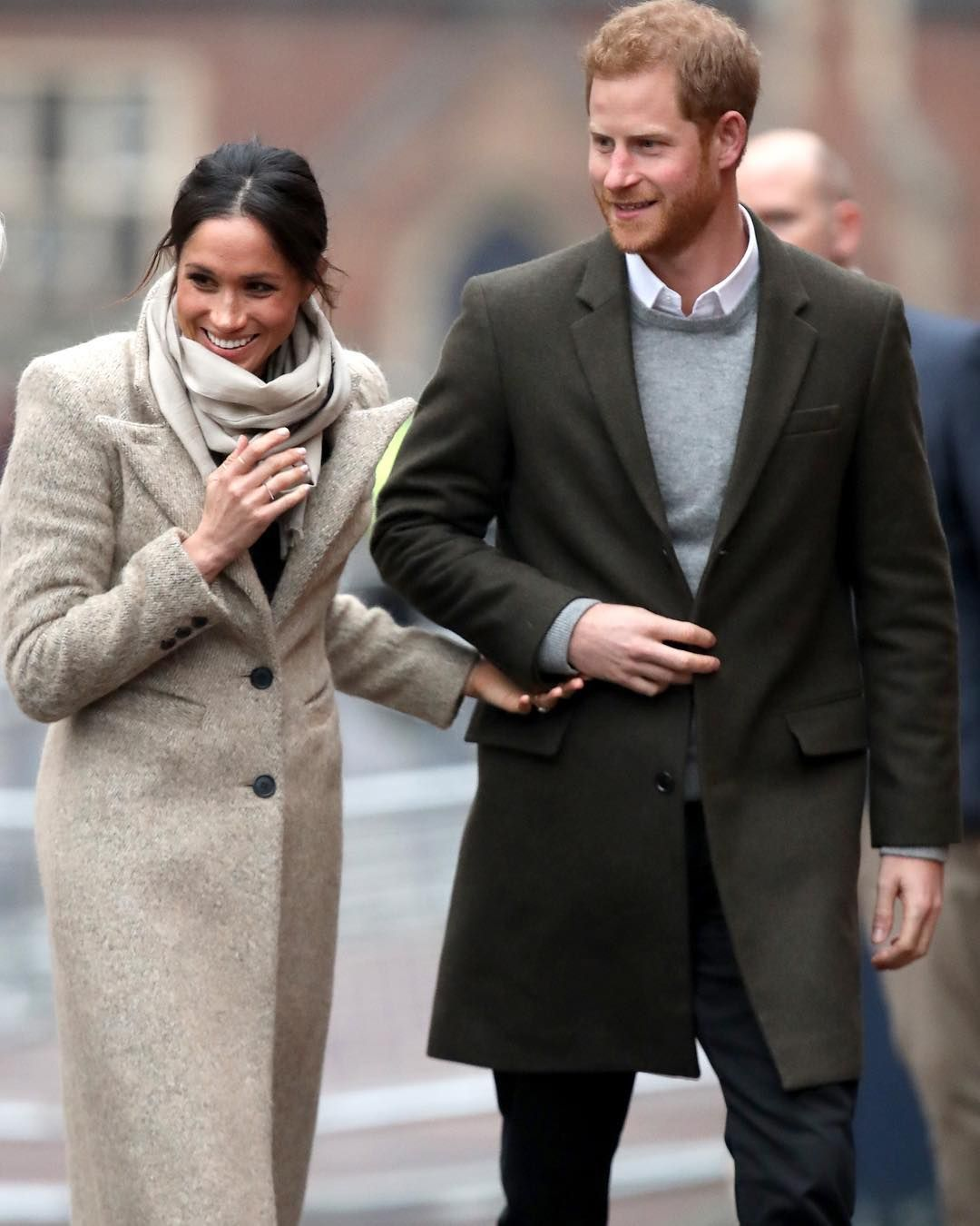 @townandcountrymag Harry and Meghan made another adorable appearance today in London!  Click the link in our bio to see every photo. : by @chrisjacksongetty #meghanmarkle #princeharry