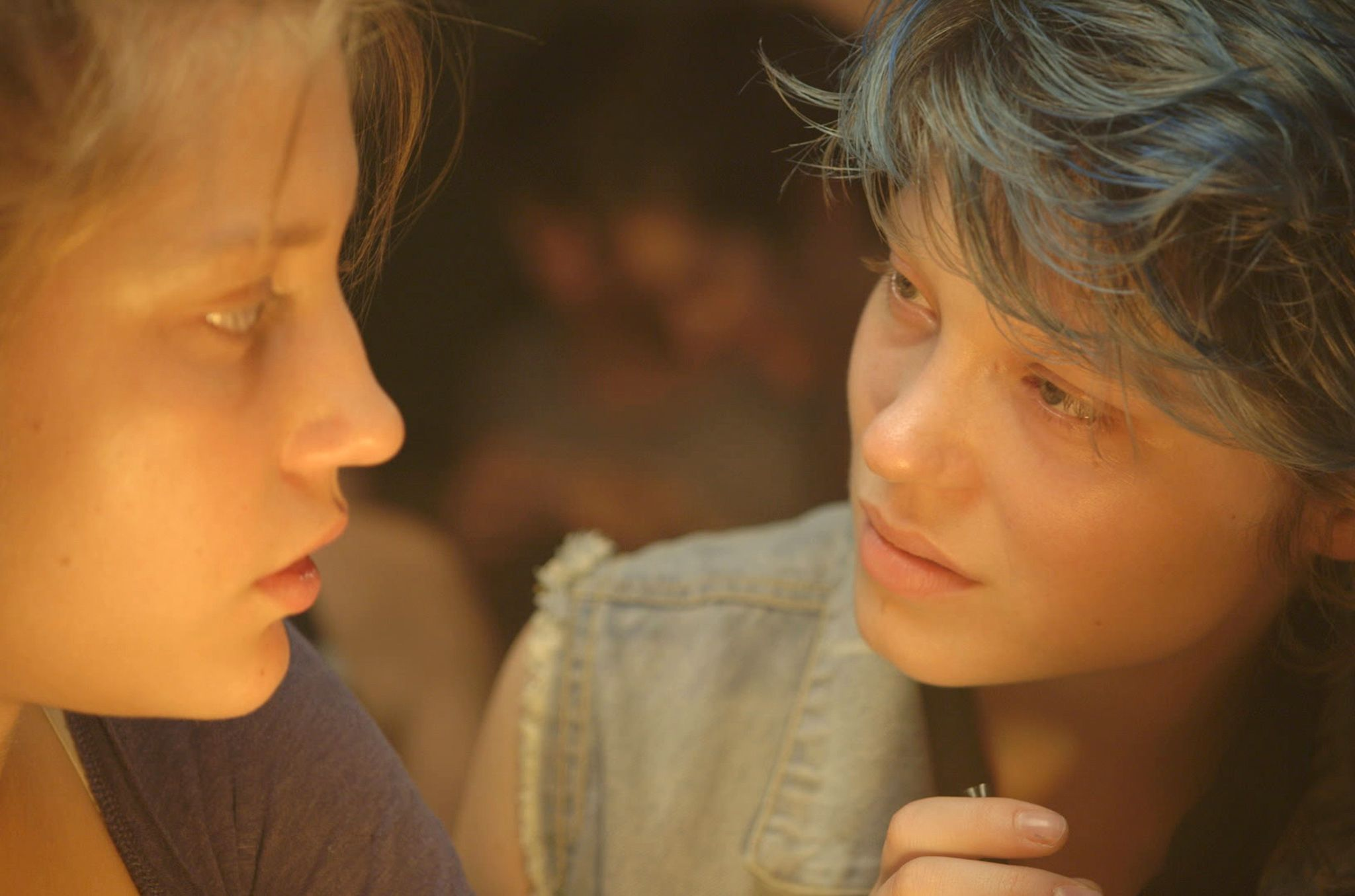 Blue Is the Warmest Color movie review Blue is the