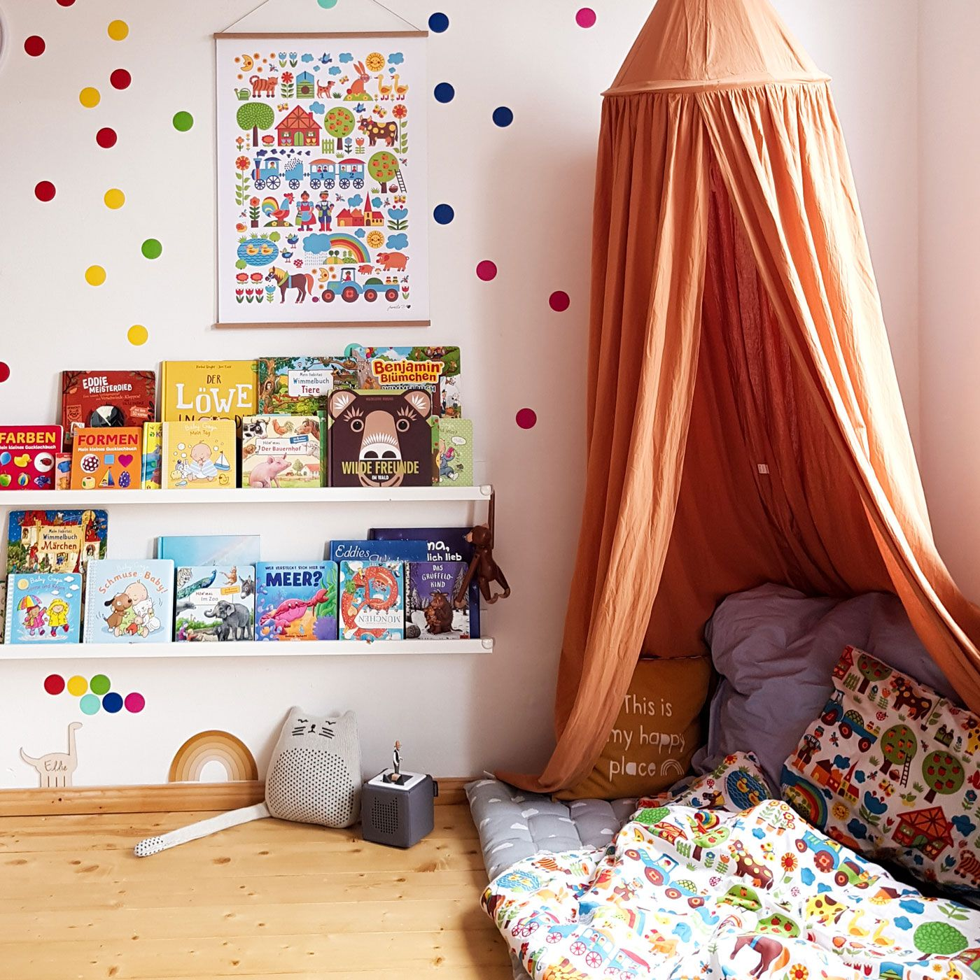 Kinderzimmer bunt einrichten bei Eddie Eisbär