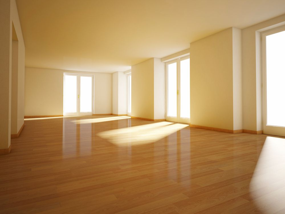image result for empty yellow house interior