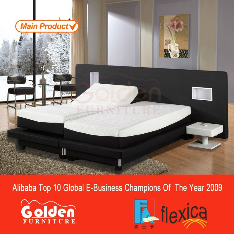 king size electric adjustable bed custom made beds with latex memory mattresses for free buy king size electric adjustable bedking size electric - Electric Adjustable Bed Frame