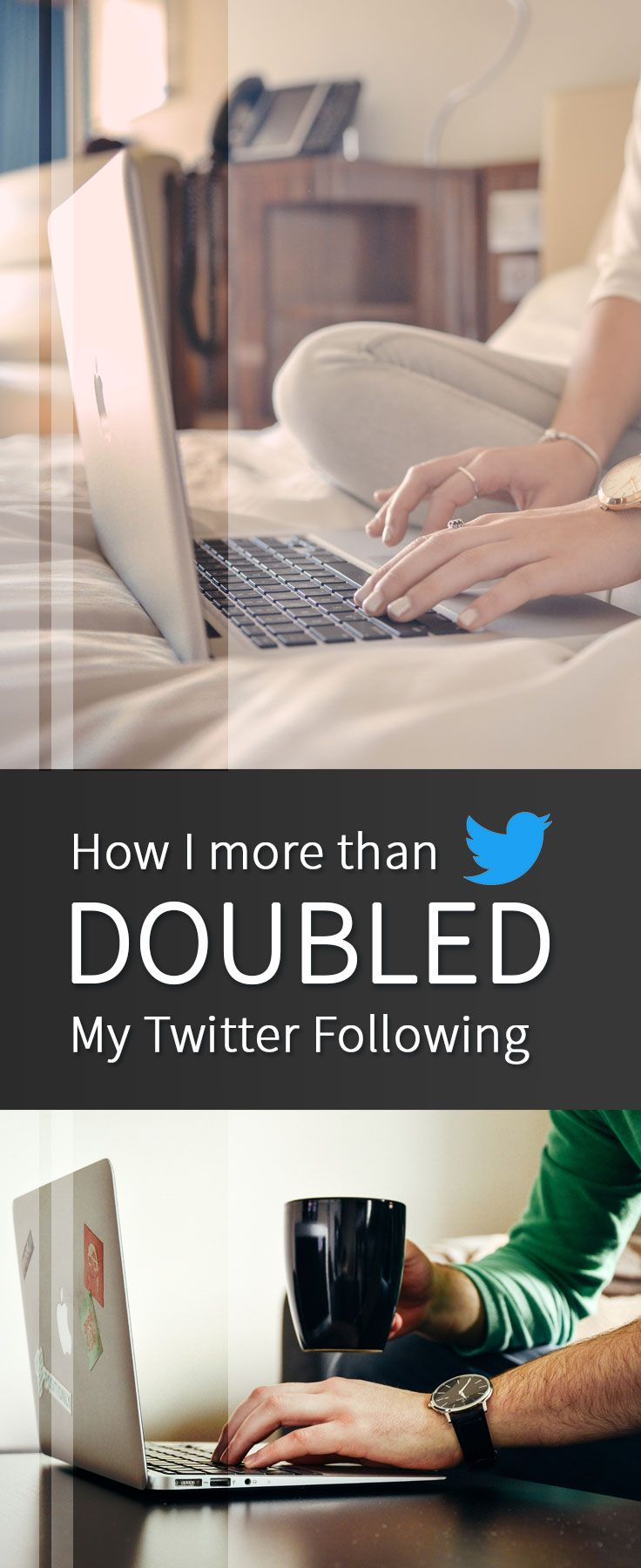 How to Grow your Twitter following as a blogger without