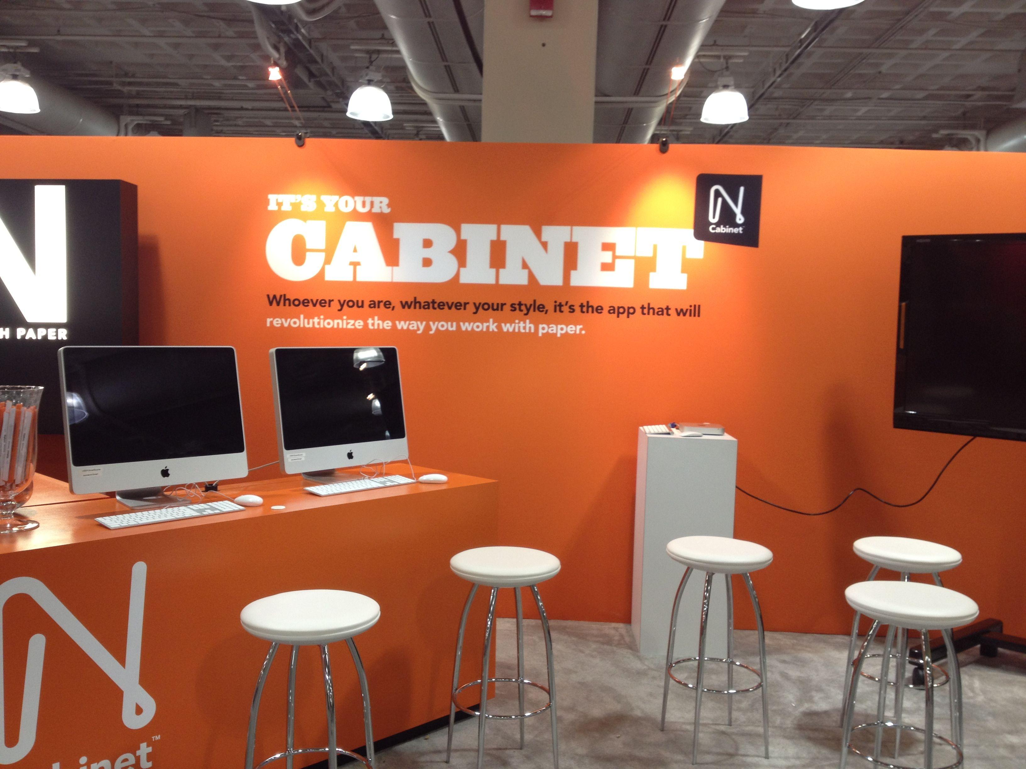 Neenah Cabinet Booth - HOW Boston  www.neenahpaper.com/cabinet