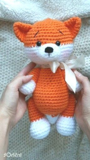 Photo of AMIGURUMI FOX – crochet pattern for beginners  #crochet #amigurumi #crochetpatte…,  #Amigur…