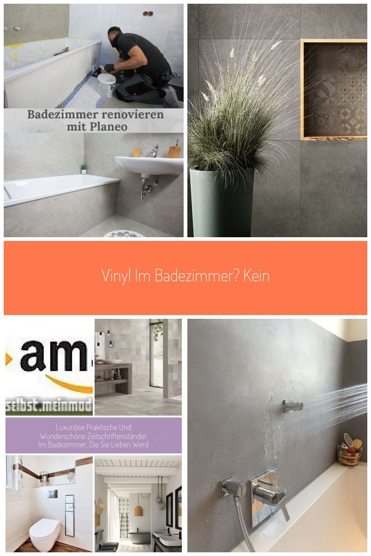 Vinyl Im Badezimmer Kein Problem Alle Informationen Wie Du Dein Badezimmer Richtig Abdichtest Und R In 2020 Badezimmer Badezimmer Renovieren Vinyl
