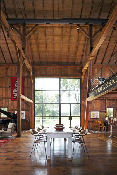 How to Turn a Barn Into a Beautiful Home