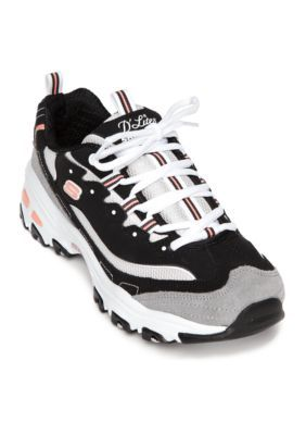 c0424dddddf4 Skechers Women s Women s D lites New Journey Sneaker - Black White - 7.5M
