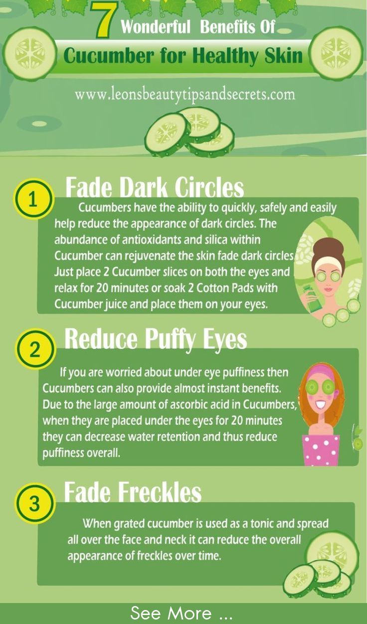 Share cucumber facial benefits what necessary