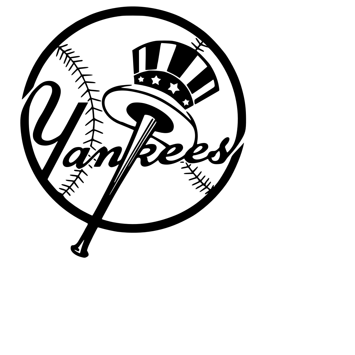 Yankees Svg New York Yankees Logo Yankees Baseball Yankees Logo