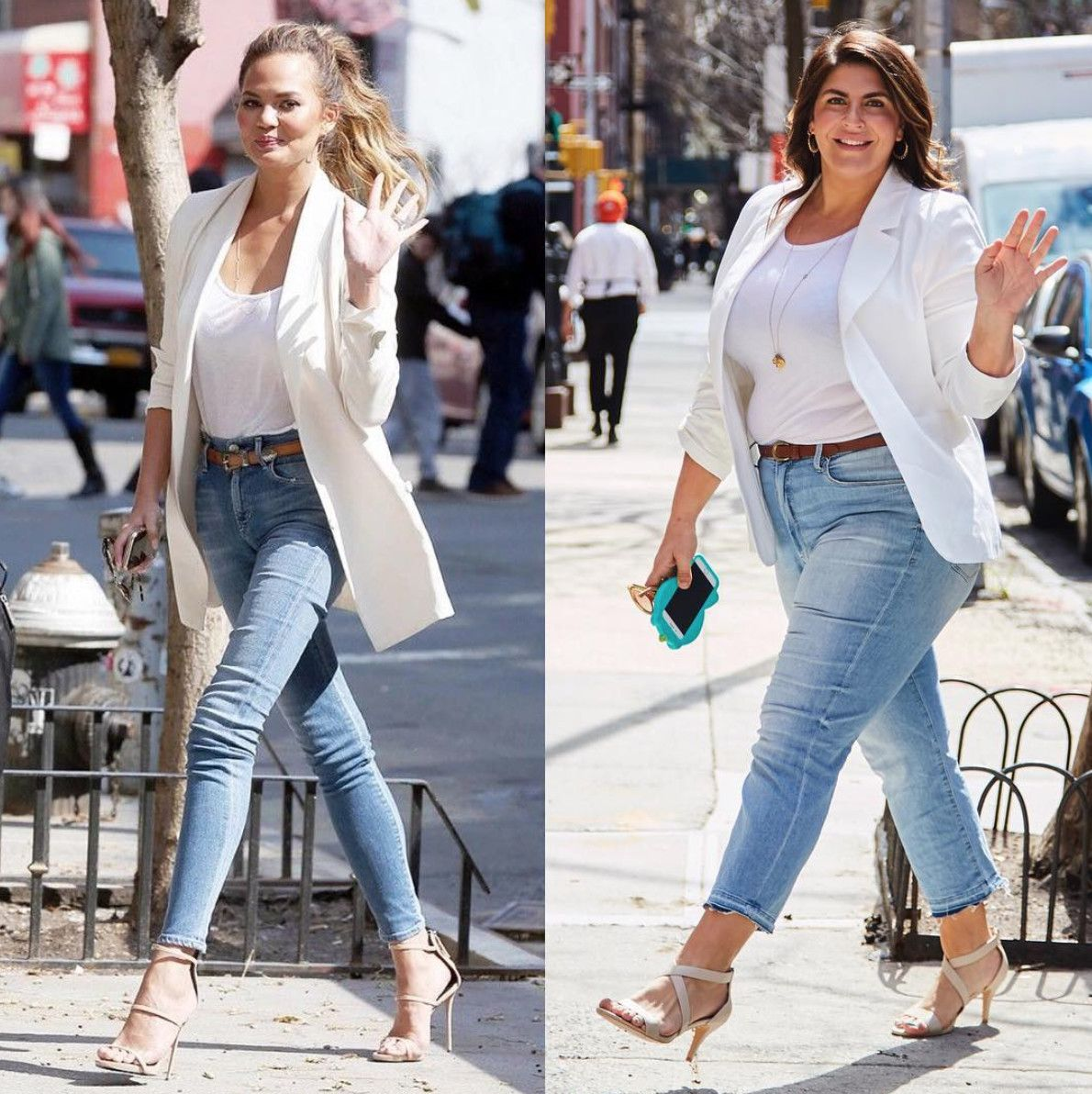 This Body Positive Blogger Is Proof You Can Dress Like A Celebrity At Any Size Casual Day Outfits Plus Size Outfits Plus Size Fashion