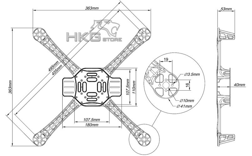 Quadcopter Frame Design
