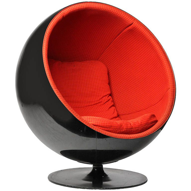 Ball Chair by Eero Aarnio Ball chair Modern lounge and Lounge