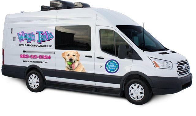 Used Mobile Grooming Van Truck And Trailer Conversion Ads Dog Growling Dog Grooming Van