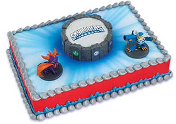Skylanders Cake Topper Decor Kit Birthday Party Supplies CK577C