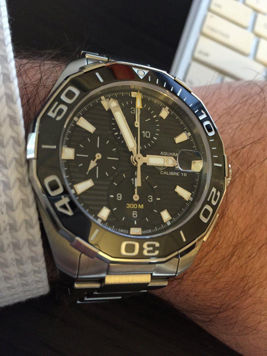 TAG Heuer Aquaracer 300m Ceramic Calibre 16   Watches ...