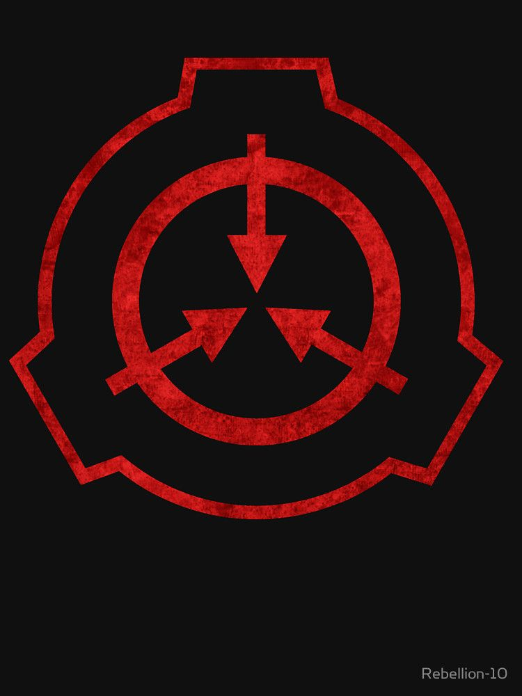 Scp Foundation Symbol Red Unisex T Shirt Cthulhus Call