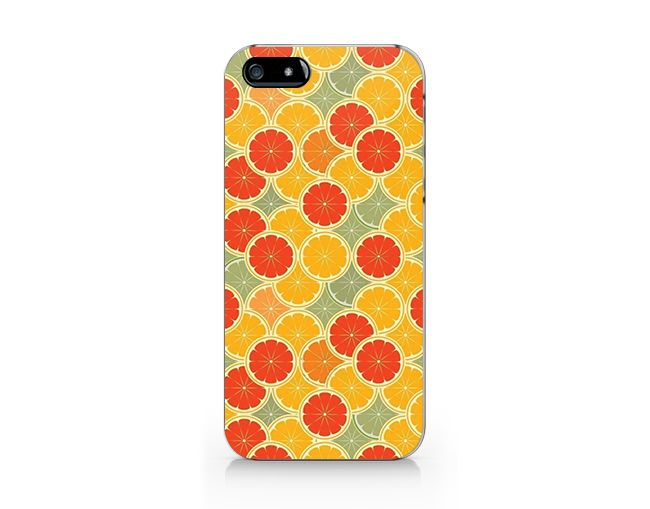 M450 Lemon pattern phone case for iP4/5/5C/6/6plus from Emerishop by DaWanda.com