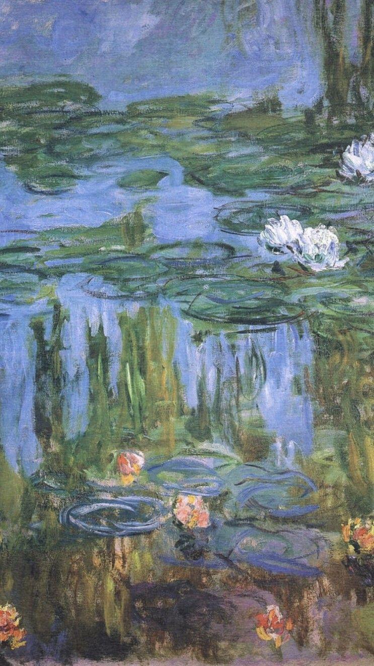 dreamlike 클로드 모네 ( Claude Monet ) 아이폰 배경화면