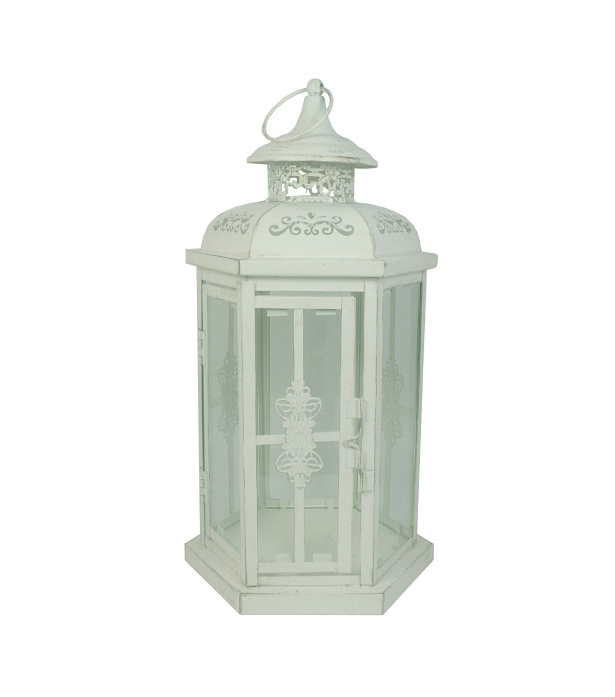 Suspended Style 32 Floating Staircase Ideas For The: Hudson 43 Candle & Light Collection Lantern Distressed