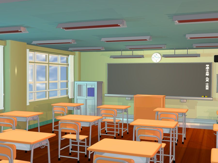 Gallery Classroom Wallpaper Anime Student Images Anime Background Classroom