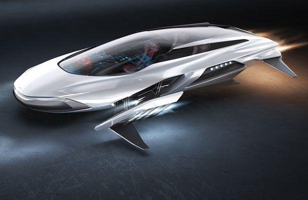 Kia Gerrida Jet Hover Car Concept By Rene Gabrielli Tuvie
