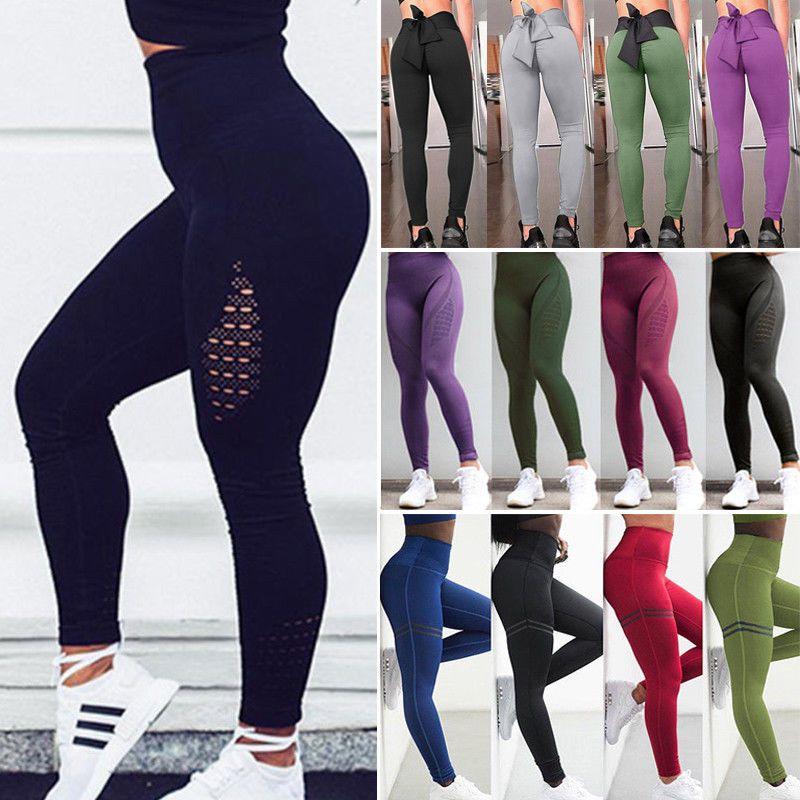 K-Swiss Womens Capri Workout Leggings Cropped Running Gym /& Yoga Pants