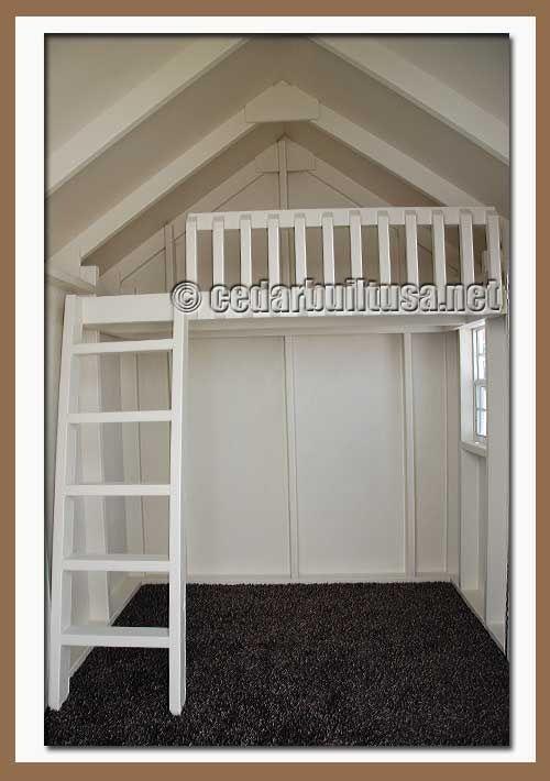 playhouse furniture ideas. cute little loft idea for playhouse furniture ideas u