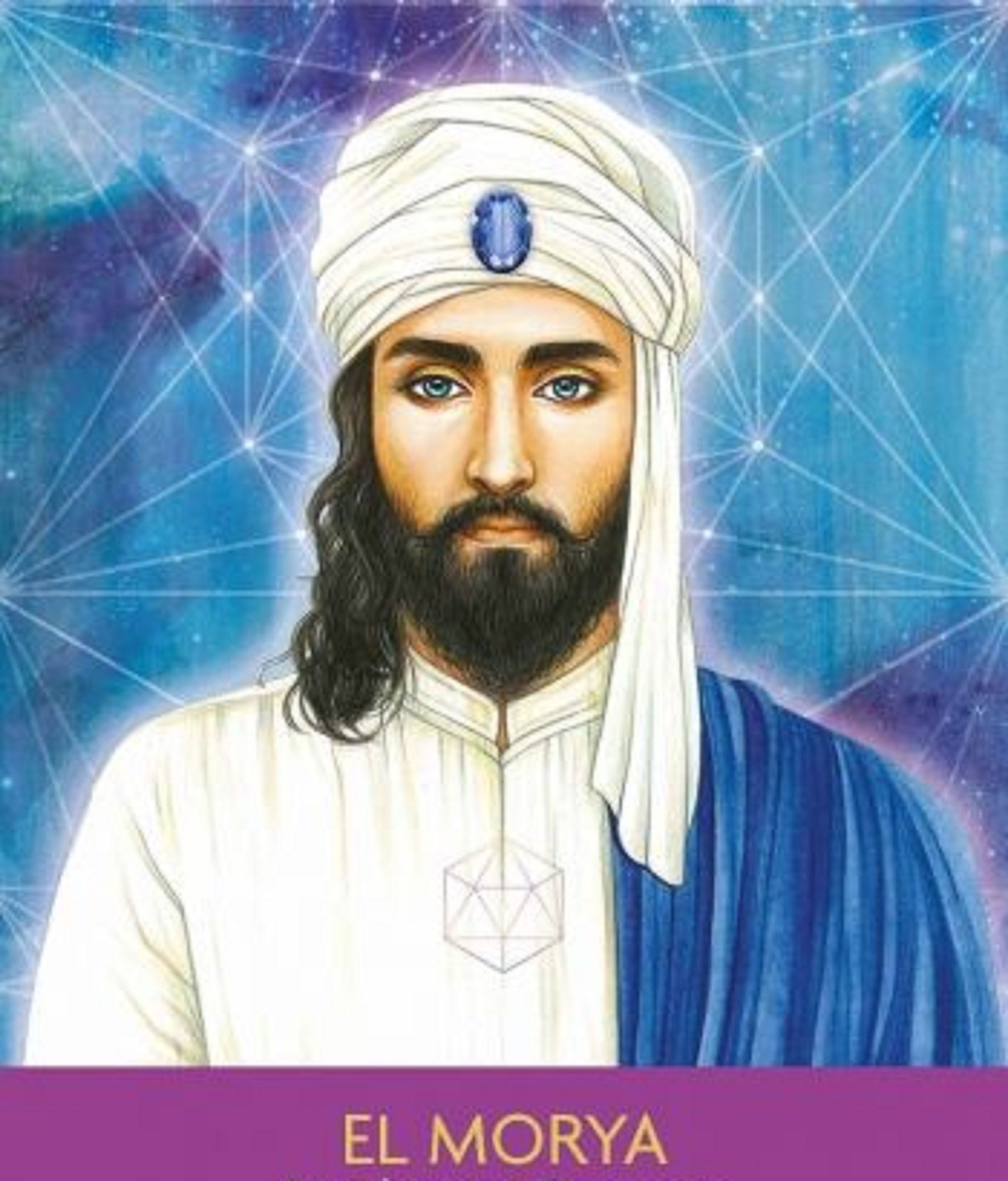 El Morya Ascended Masters Oracle Cards - Year of Clean Water