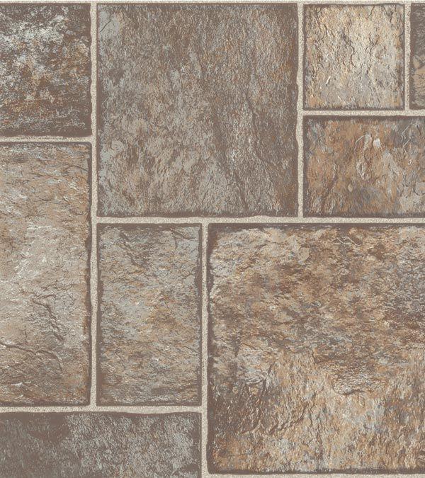 Congoleum Airstep Basix Flagstone Sandy Sage Flagstone Flooring Kitchen Flooring Flagstone