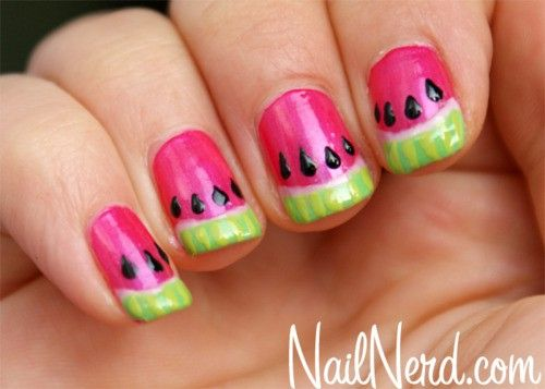 summer print nail designs - Google Search - Summer Print Nail Designs - Google Search Finger Paint