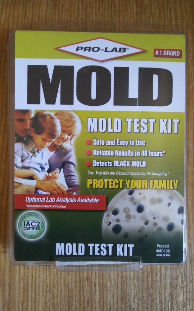 ProLab Mold Do It Yourself Test Kit MO109 Tester ProLab