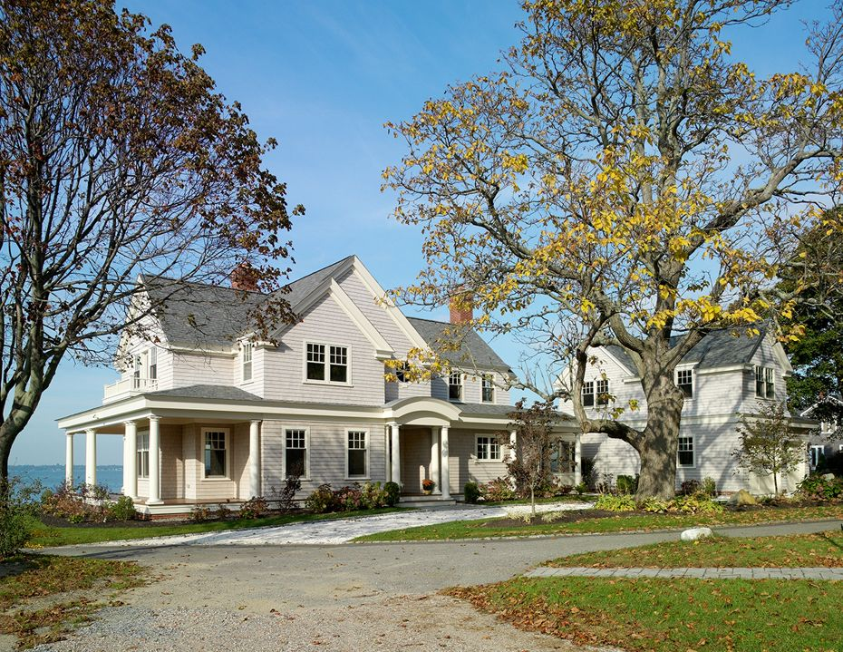 New England Waterfront Home