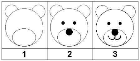 Comment dessiner des ours boucle d or pinterest comment dessiner dessiner et boucles - Dessin ours facile ...