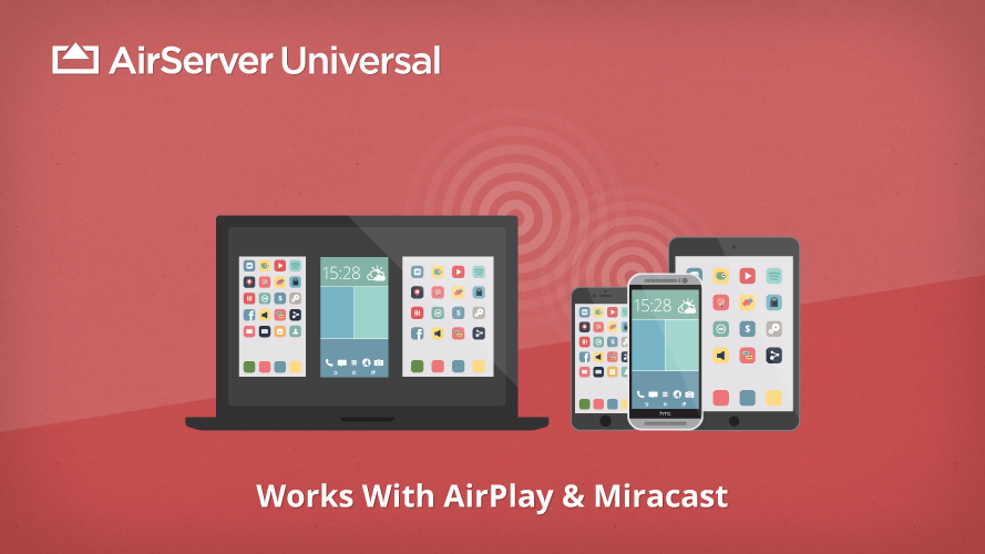 AirServer 7.1.1 for Mac 破解版 AirPlay终端工具