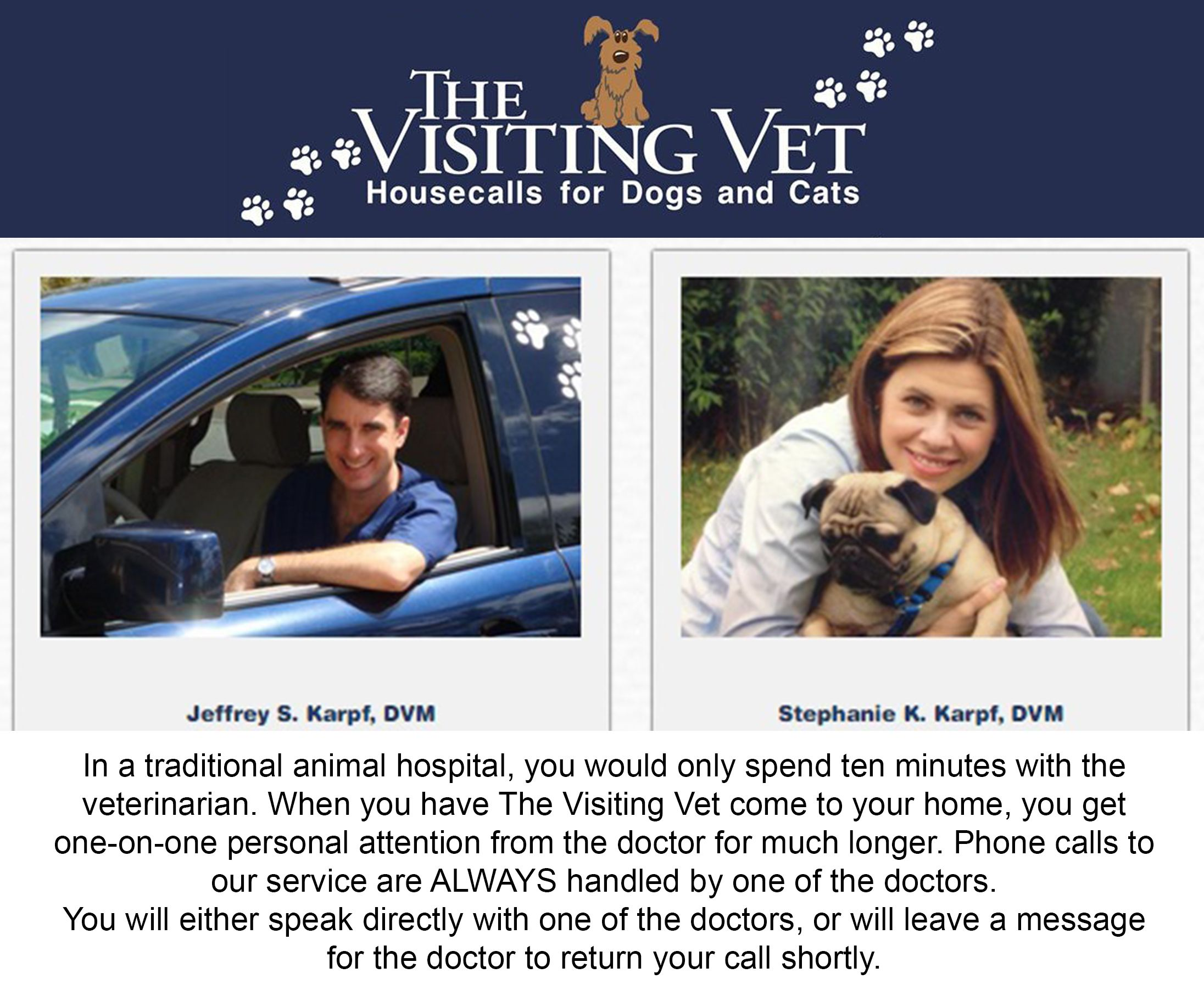 The Visiting Vet Mobile veterinarian in Palm Beach County
