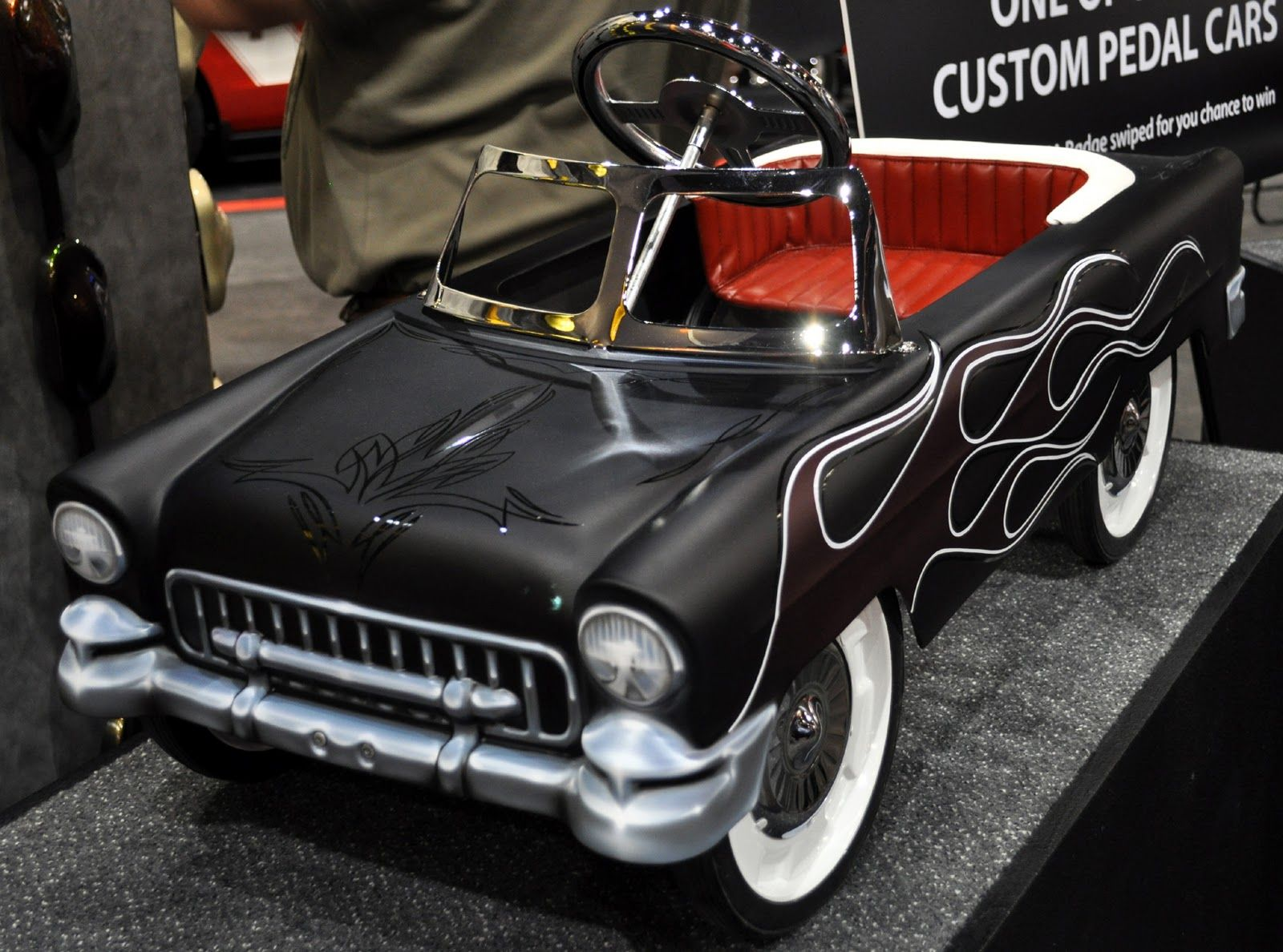 Lowrider car toys  Lowrider Pedal Cars  Just a car guy  a couple pedal cars at SEMA