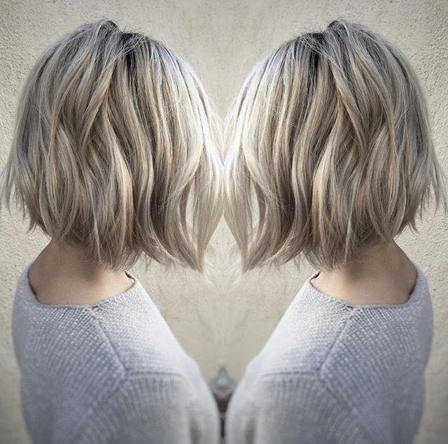 Icy Blonde Bob Goldilocks In 2019 Pinterest Hair Hair Styles