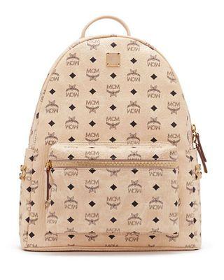 MCM Stark Side Stud Medium Backpack | Studded backpack