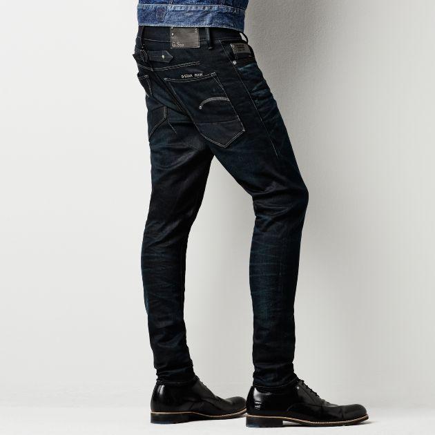 G-Star RAW - Davin Slim Tapered - Men - Jeans | MEN'S | Pinterest