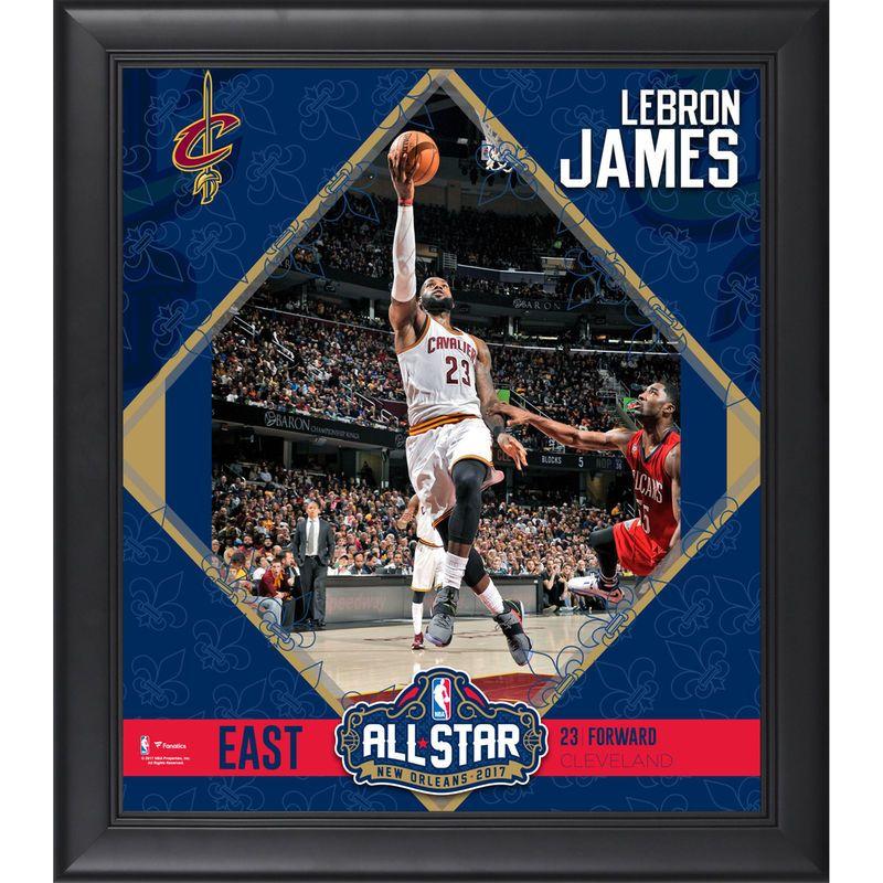 e092e5ae705 LeBron James Cleveland Cavaliers Fanatics Authentic Framed 15