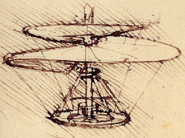 Gallery For > Leonardo Da Vinci Inventions Helicopter | Exhibition ...