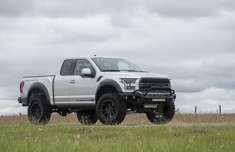 Hennessey S Velociraptor Ditches Ford Ecoboost For A Proper V8