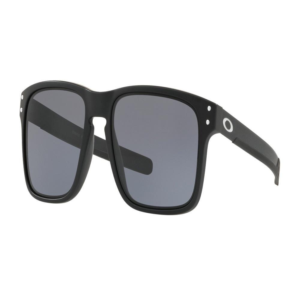 7459ffdda8c Oakley Holbrook Mix Mens Sunglasses Matte Black With Grey Lens 0OO9384