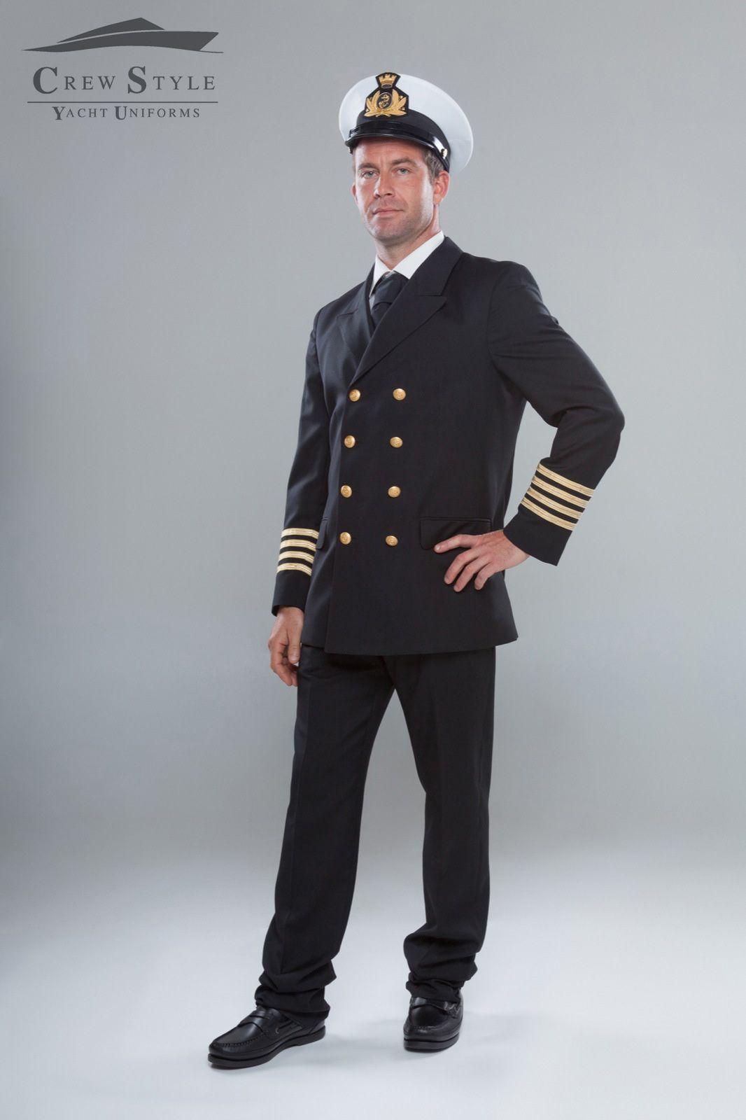 Captain uniform, yacht uniforms, yacht wear, www.crewstyle.it