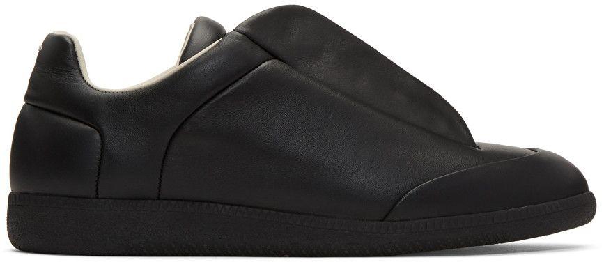 MAISON MARTIN MARGIELA Black Future Sneakers. #maisonmartinmargiela #shoes #sneakers