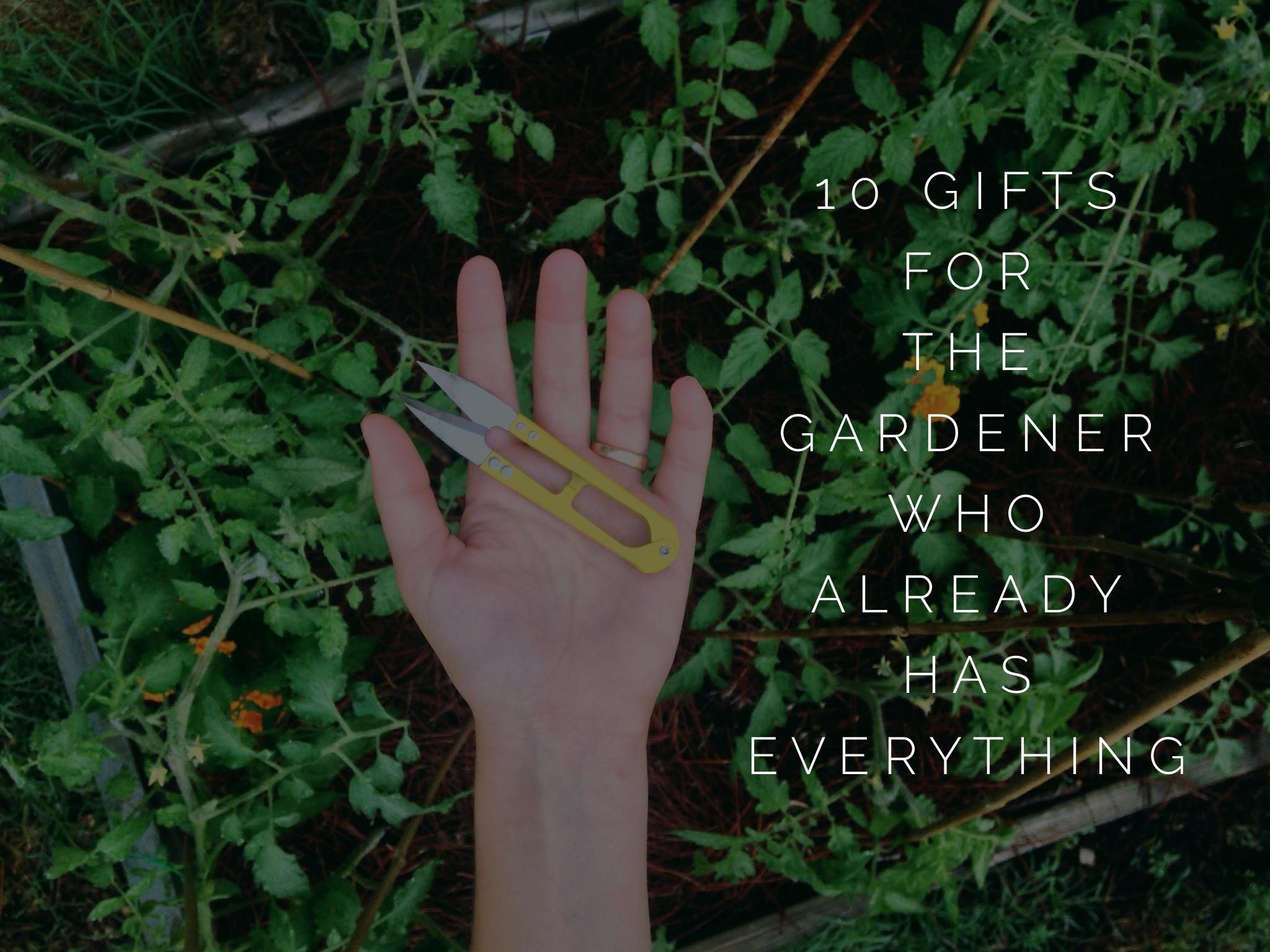 10 Gifts For The Gardener Who Already Has Everything | Notsosecret Garden |  Pinterest | Gardens