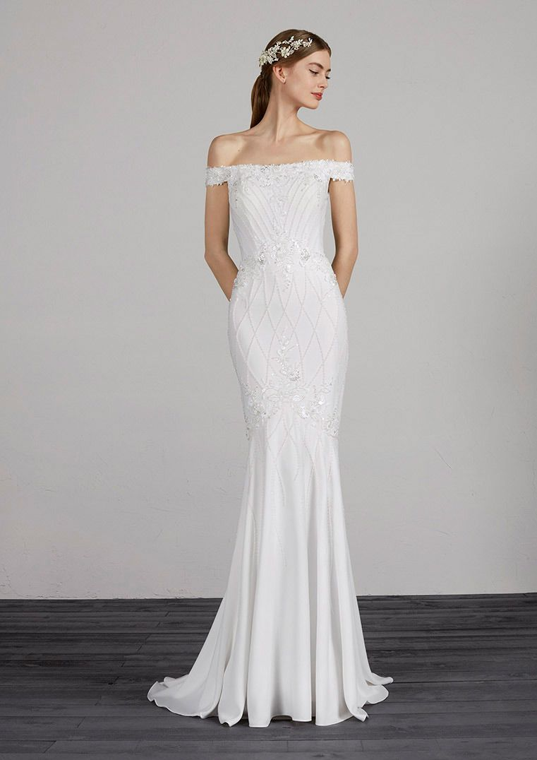 Pronovias Fashion Maryse Panache Bridal Formal Bridal In Houston Tx Pronovias Wedding Dress Wedding Dresses Simple Stunning Wedding Dresses