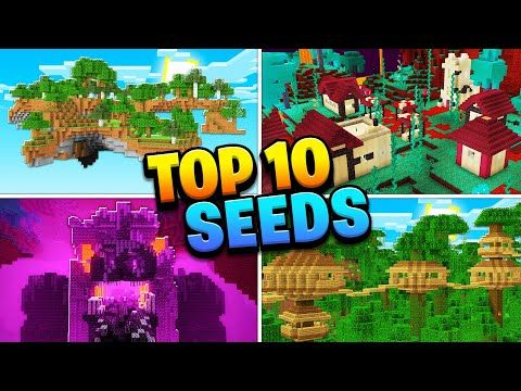 Top 10 Best New Seeds For Minecraft Nether Update 1 16 Mobile Ps4 Xbox Pc Switch Youtube In 2020 World Generator Minecraft Cool Minecraft Houses